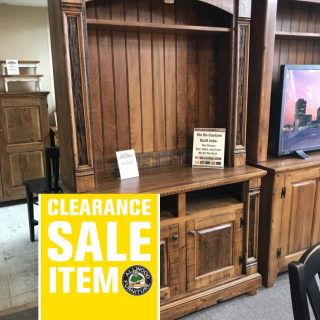 """50"""" x 84"""" Empire Tv Stand @ Pinhook In Stock PH-203"""