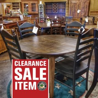 """48"""" Round Shaker Table @ UL Store UL-215 SOLD"""
