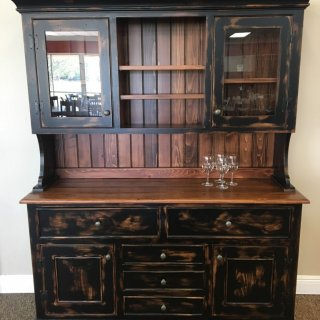 A101 Country Hutch & Buffet    @ Baton Rouge in Stock BR-333