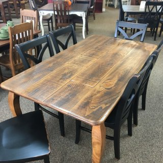 40″ x 6′ French Leg Table @ Baton Rouge BR-335 SOLD