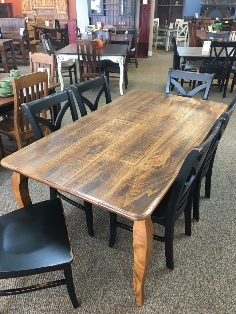 "40"" x 6 French Leg Table Baton Rouge in Stock BR 335"