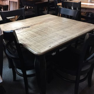 40″ X 40″ French table @ Pinhook in stock ph-204