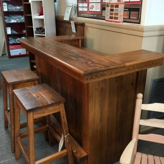 Rustic Saloon Bar @ Pinhook In Stock Ph-208