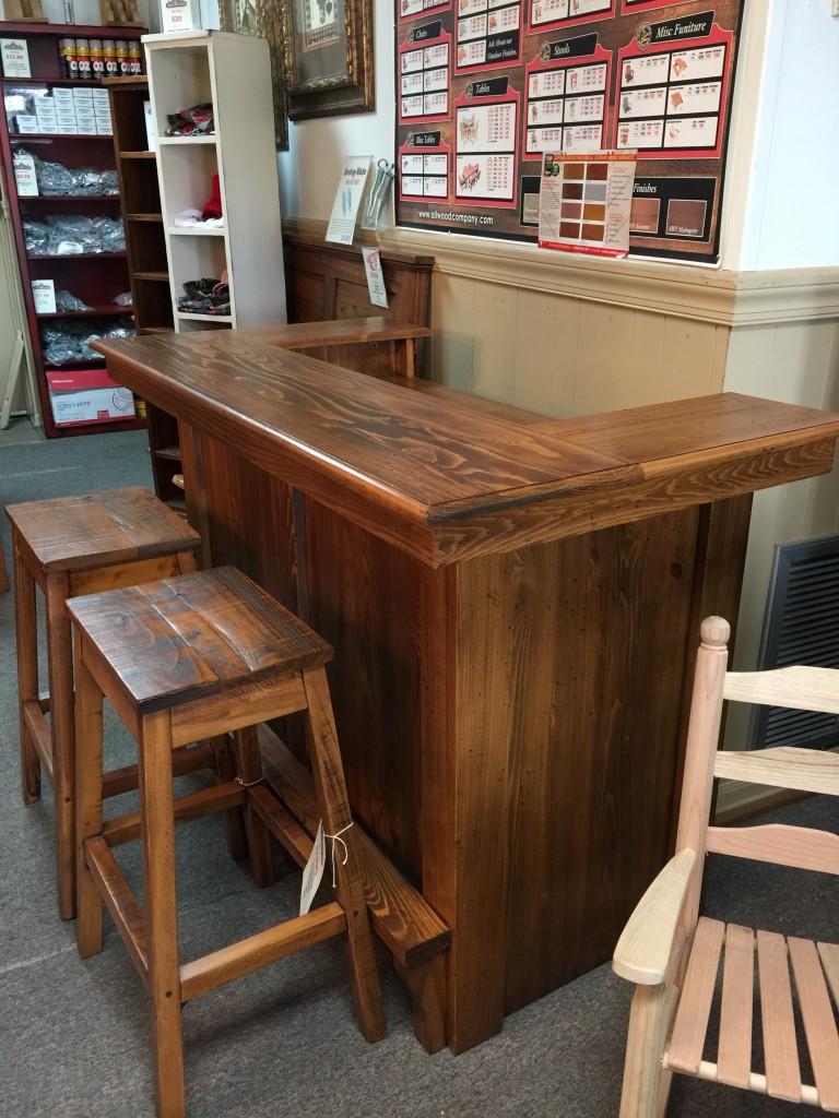 Rustic Saloon Bar Pinhook In Stock Ph 208 All Wood
