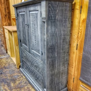 Rustic Empire Wardrobe Cabinet @UL Store UL-221 In Stock