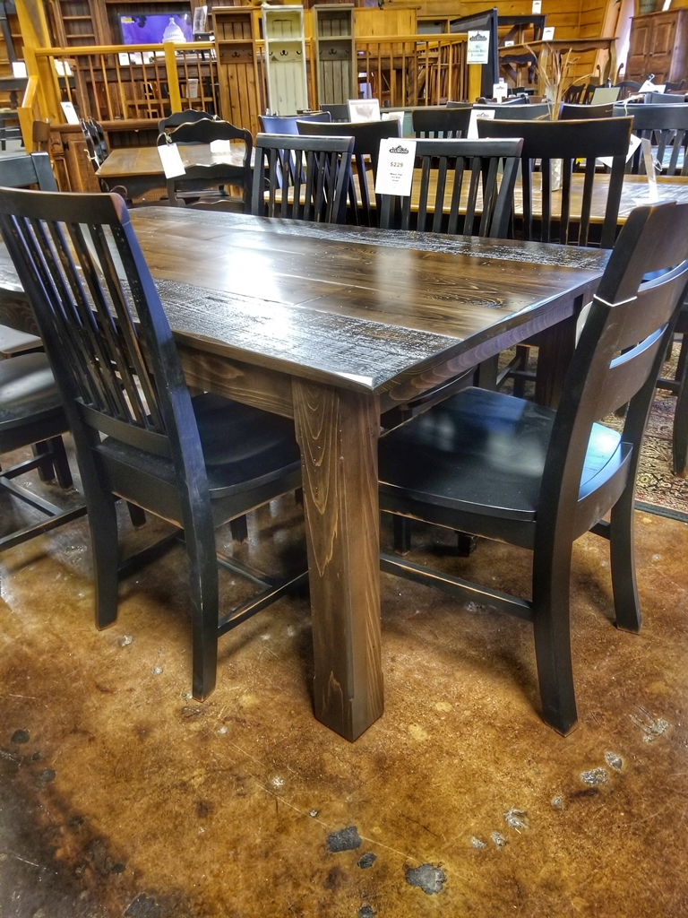 6 39 Long Cabin Table Ul Store Ul 220 In Stock All Wood Furniture