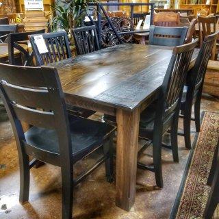 6'Long Cabin Table @UL Store UL-220 SOLD