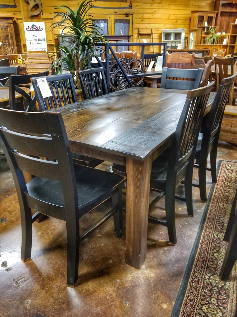 6 39 Long Cabin Table Ul Store Ul 220 In Stock All Wood