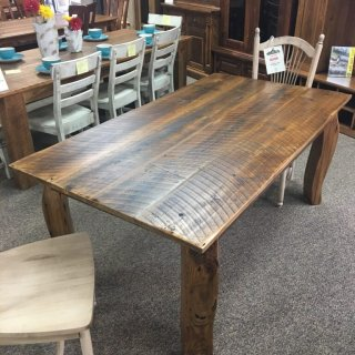 Giant Crawfish Leg Barnwood Table @ Baton Rouge BR-338 SOLD