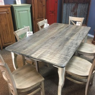 "40"" x 6' Creole Leg Table @ Baton Rouge BR-339 SOLD"