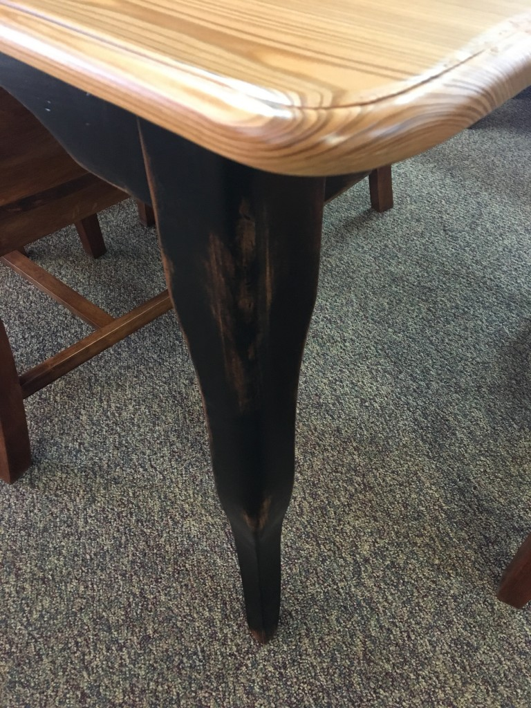 40 X 5 Sinker Cypress Creole Leg Table Baton Rouge