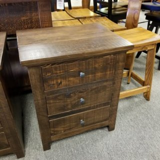 Shaker 3 Drawer Night Stand @UL Store UL-222 In Stock