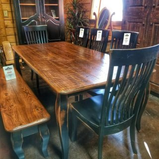 7'L French Table @UL Store UL-226 SOLD
