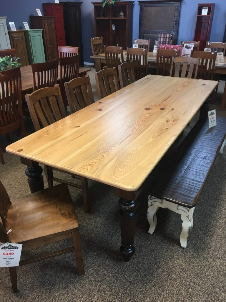 Captivating 40u201d X 9u0027 Giant Colonial Leg Table @ Baton Rouge In Stock BR 347