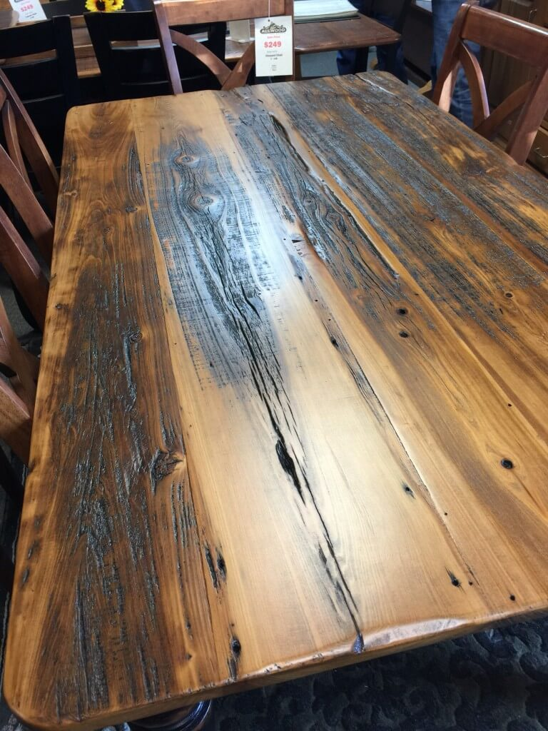 Colonial Barnwood Table Pinhook Ph 221 In Stock All