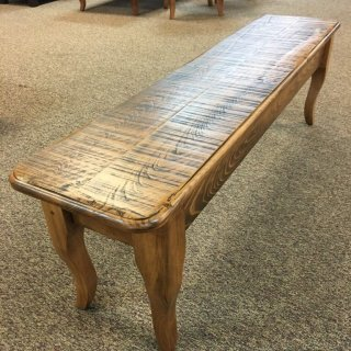 5' Creole Leg Bench @ Baton Rouge in Stock BR-355