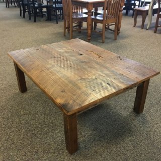 "36"" x 48"" Block Leg Coffee Table @ Baton Rouge BR-356 SOLD"