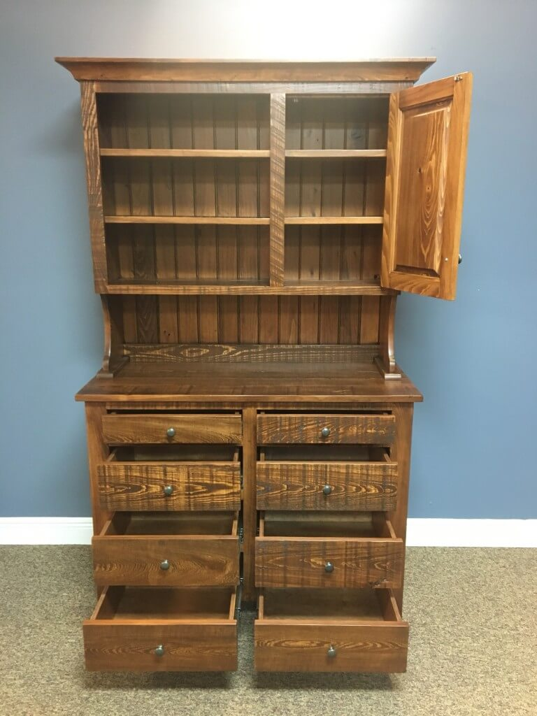 Rustic Shaker Hutch Baton Rouge In Stock Br 360
