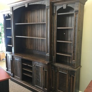 Rustic Empire 4 piece Wall Unit @ Baton Rouge in Stock BR-361