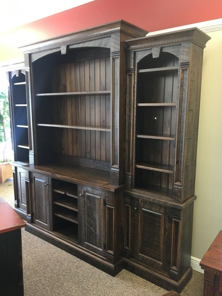 Rustic Empire 4 Piece Wall Unit Baton Rouge In Stock Br 361