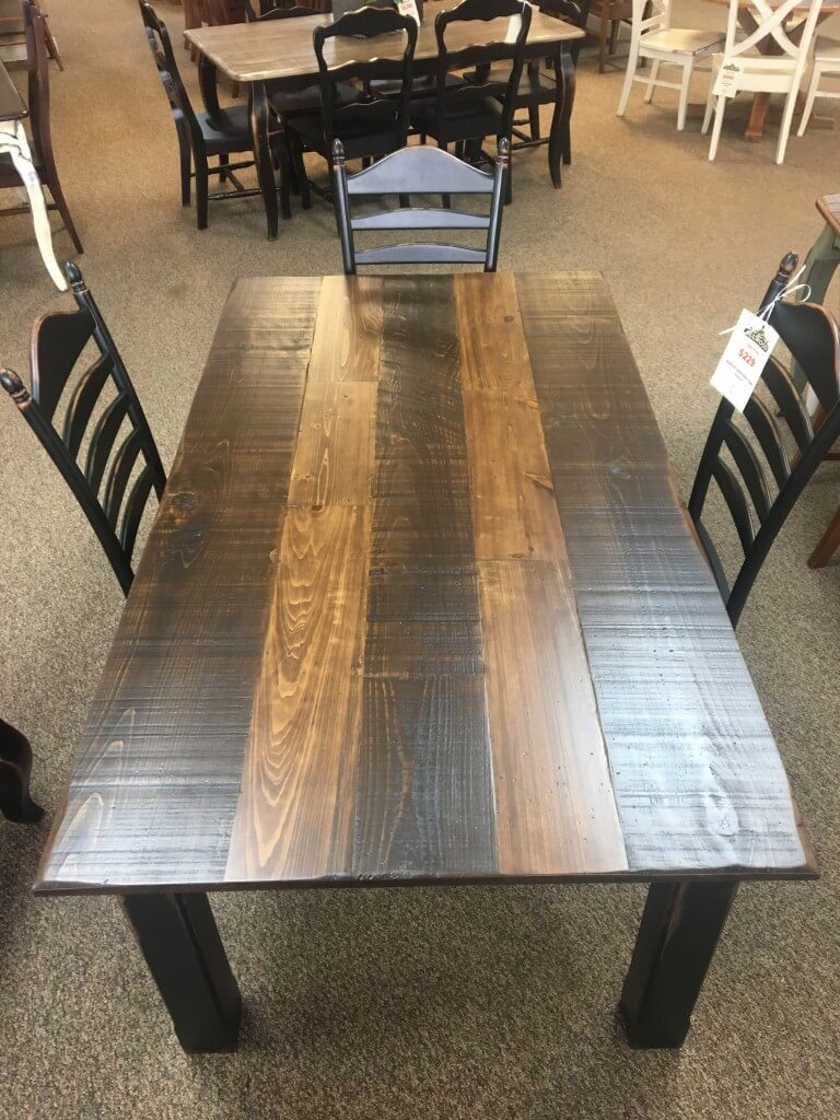 40 X 7 Cabin Leg Table Baton Rouge Br 364 Sold All
