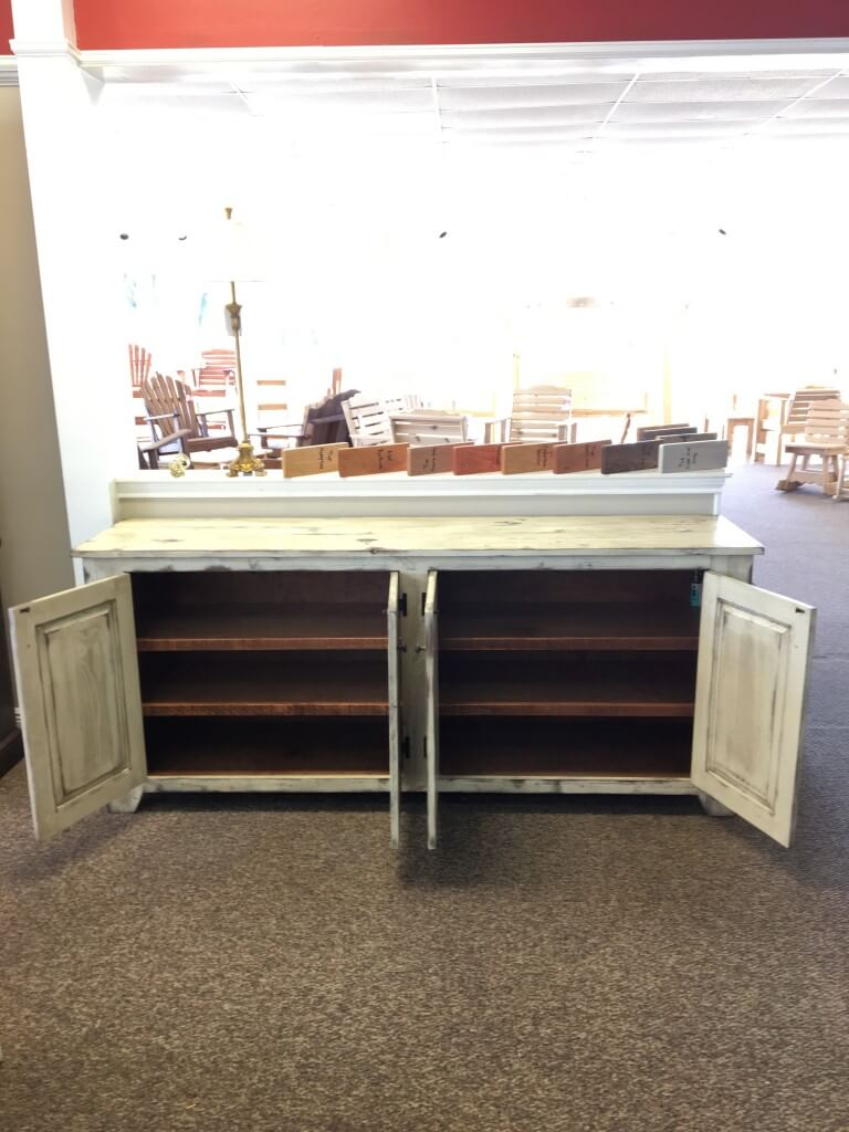 Shaker Server Baton Rouge In Stock Br 371 All Wood Furniture