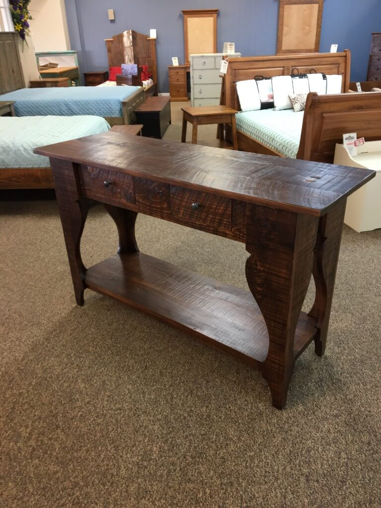 Giant Classique Sofa Table Baton Rouge In Stock Br 372 All Wood Furniture