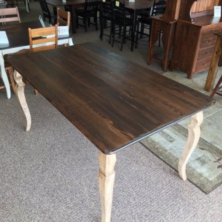 "42"" x 6' Pub Height Sabre Leg Table @ Baton Rouge in Stock BR-383"