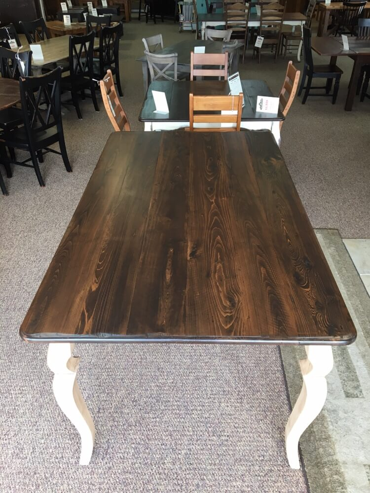 42 X 6 Pub Height Sabre Leg Table Baton Rouge In Stock