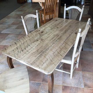 "36"" x 6' Country French Leg Table @ Baton Rouge in Stock BR-384"