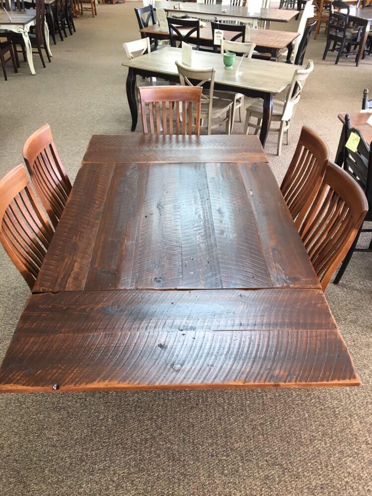 4 X 4 Block Leg Table W 2 18 Company Boards Baton