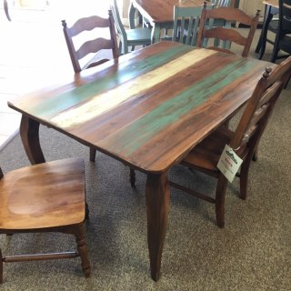 "40"" x 5' French Leg Table @ Baton Rouge BR-389 SOLD"