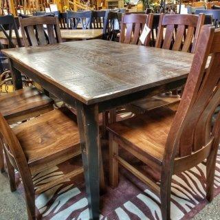 5′ Shaker Leg Table @UL Store UL-231 SOLD