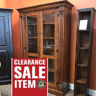 Rustic Shaker Display Cabinet @ Baton Rouge in Stock BR-398