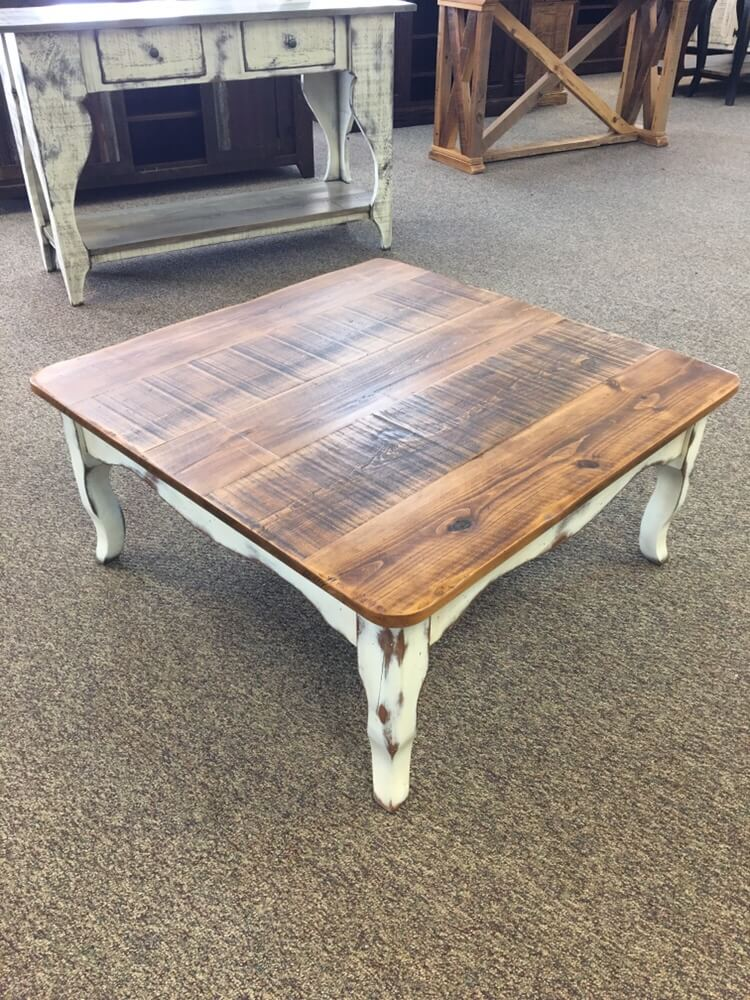 Creole Leg Coffee Table Baton Rouge Br 396 Sold All Wood