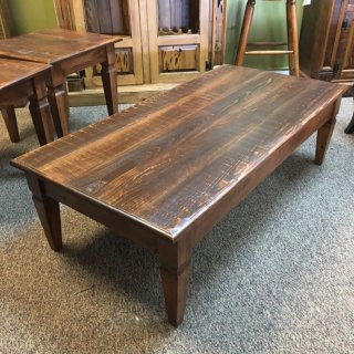 Knotched Taper Leg Coffee Table @ Baton Rouge in Stock BR-397