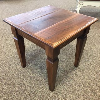 Knotched Taper Leg End Table @ Baton Rouge in Stock BR-395
