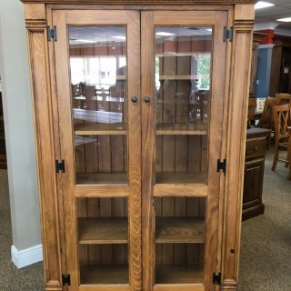 Rustic Shaker Display Cabinet @ Baton Rouge in Stock BR-399