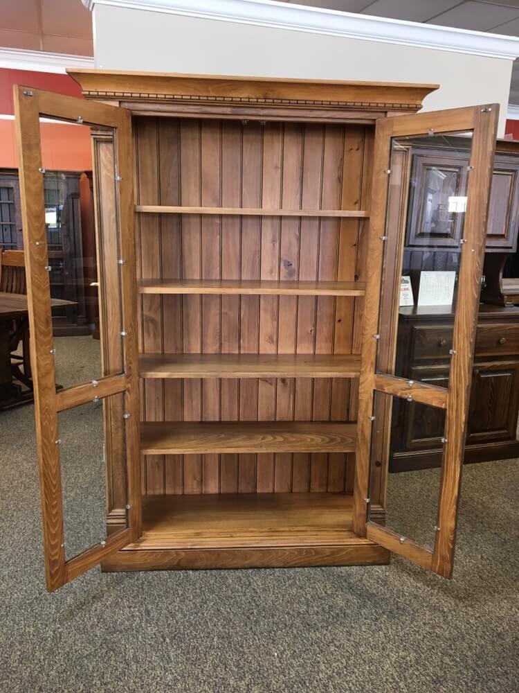 Rustic Shaker Display Cabinet Baton Rouge In Stock Br