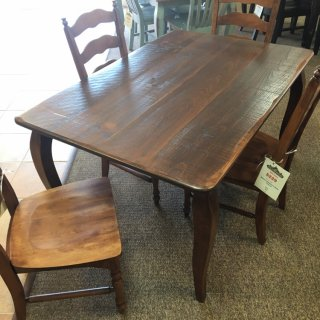 "40"" x 5' French Leg Table @ Baton Rouge BR-400 SOLD"