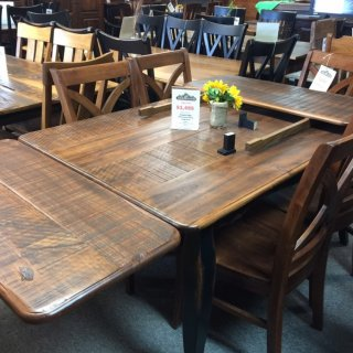 "40"" x 5' French Table w/Company Boards @ Pinhook PH-222 Sold"