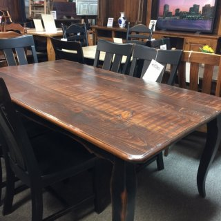 """40"""" x 6' French Table @ Pinhook PH-223 SOLD"""