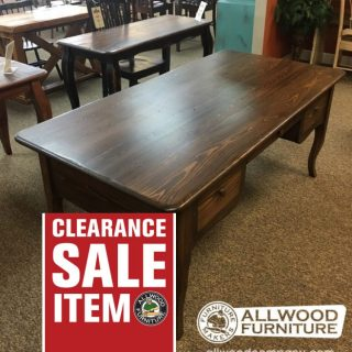 Creole Desk w/ 3 Drawers @ Baton Rouge in Stock BR-405