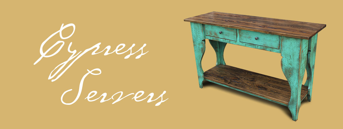 Handcrafted Cypress