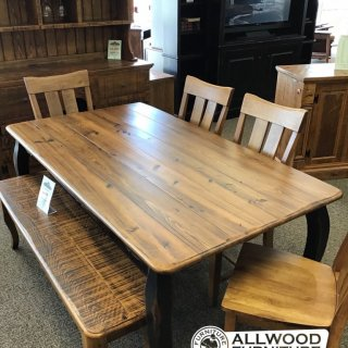 "40"" x 6' French Leg Table @ Baton Rouge in Stock BR-410"
