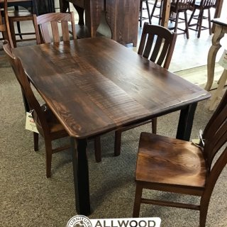 "40"" x 5' Cabin Leg Table @ Baton Rouge BR-415 SOLD"