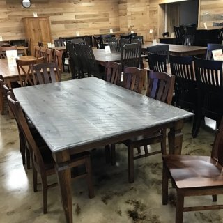 "48"" X 7' Notch Leg Table @ Pinhook In Stock PH-258 Sold"
