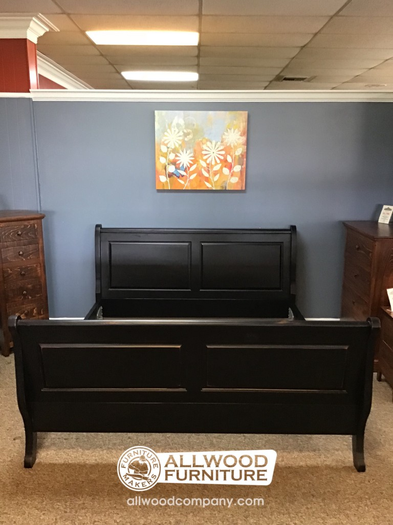 Rustic Sleigh Bed In King Baton Rouge Br 423 Sold All