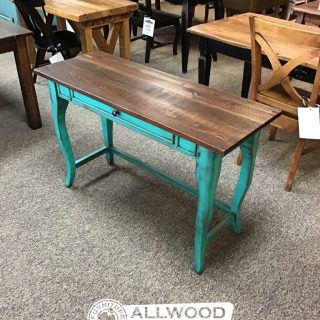 Creole Leg Desk w/ 1 Drawer @ Baton Rouge in Stock BR-420