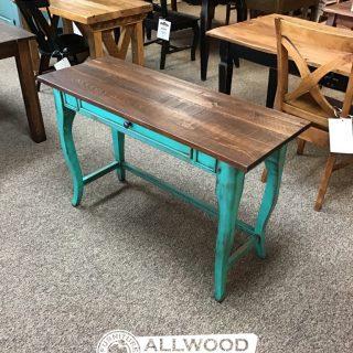 Creole Leg Desk w/ 1 Drawer @ Baton Rouge in Stock BR-420